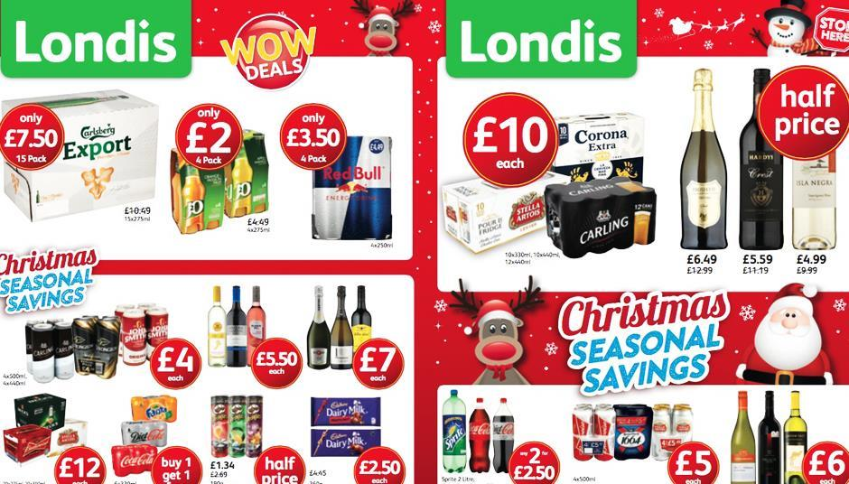 Londis Launches Christmas Seasonal Savings Top Up Campaign News The Grocer