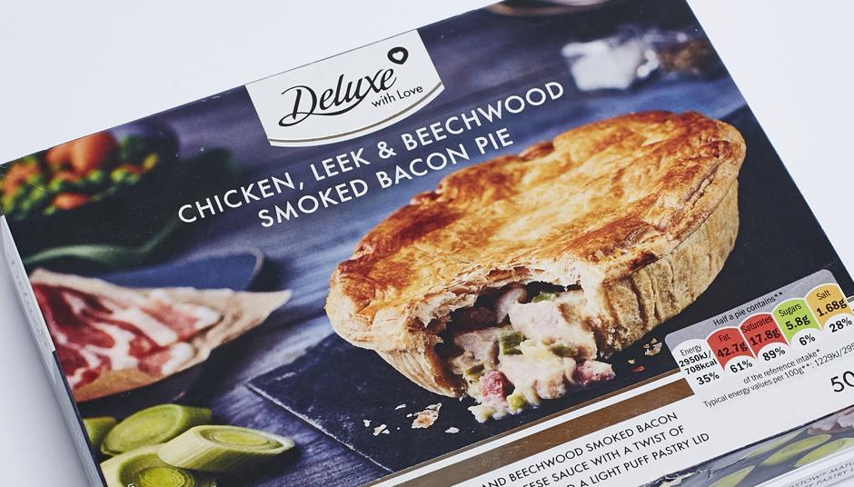 Lidl Deluxe With Love Smoked Bacon Pie Analysis Features The Grocer