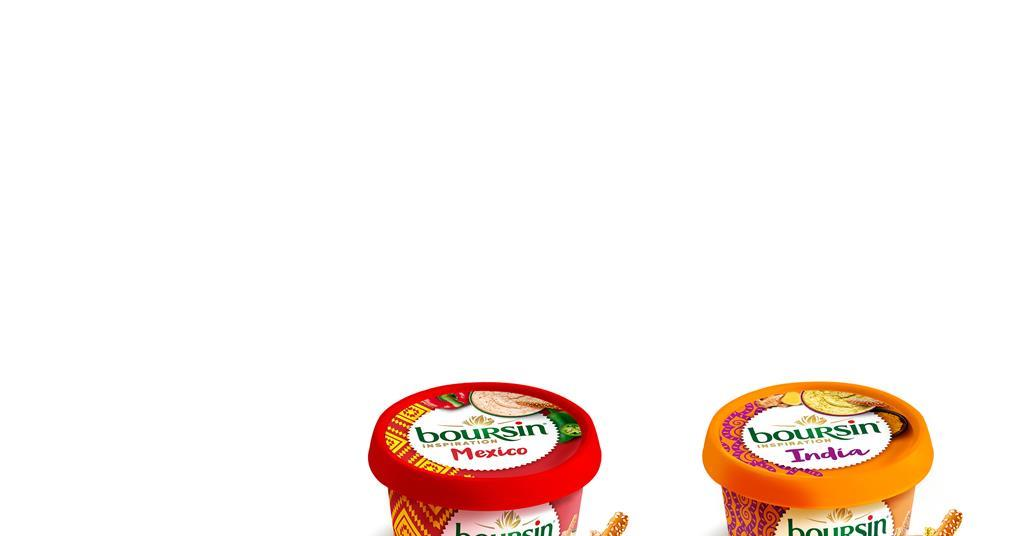 boursin adds inspiration range of spiced soft cheeses