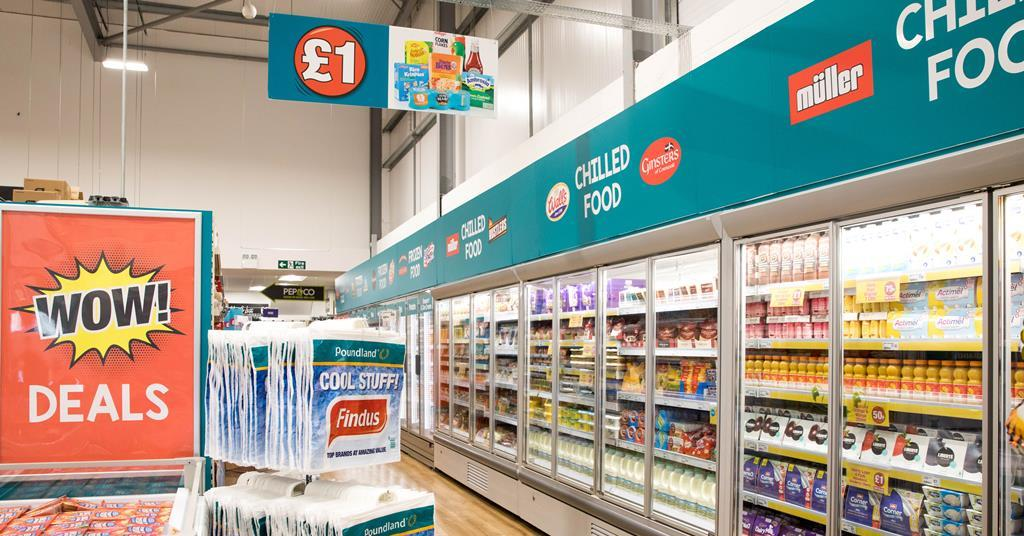 Poundland Announces Next 19 Stores To Get Frozen And Chilled Shops In Shops News The Grocer