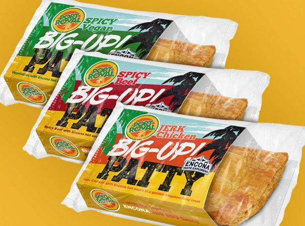 port royal and encona team up for bigup jamaican patties  news  the grocer