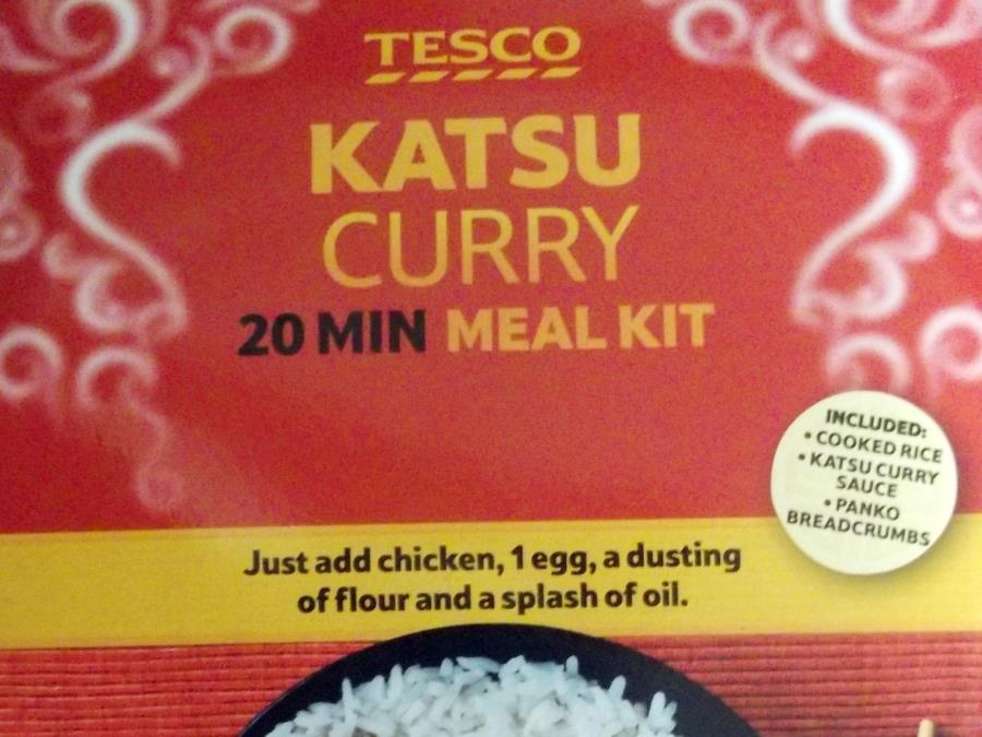 Tesco Katsu Curry Meal Kit Acid Test Acid Test The Grocer