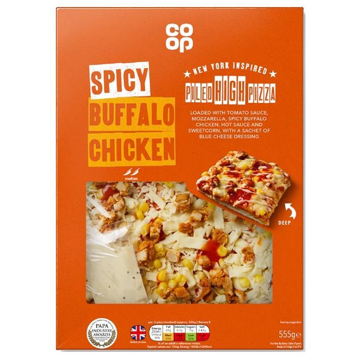 Co Op Unveils New Piled High Pizza Own Label Range News
