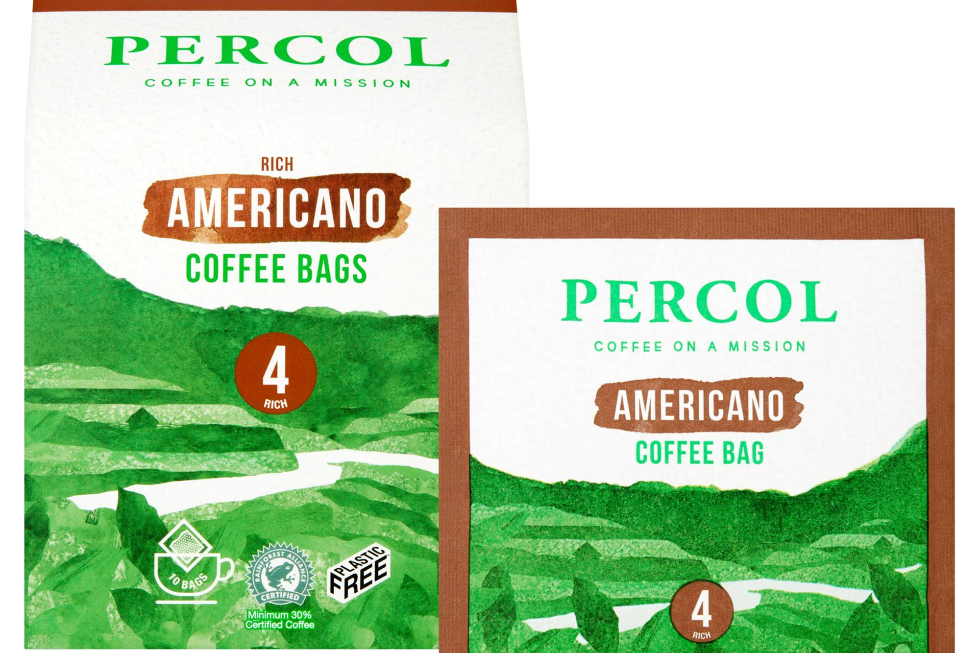 Percol Claims World First With Plastic Free Coffee Bag