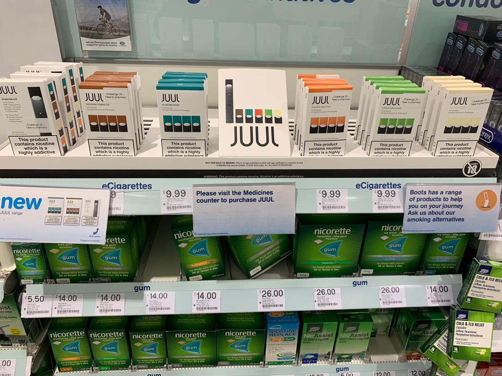 Vaping brand Juul secures listing in Boots   News   The Grocer