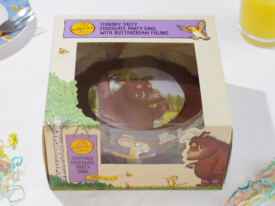 Amazing Park Cakes Rolls Gruffalo Party Cake Into Tesco Stores News Funny Birthday Cards Online Eattedamsfinfo