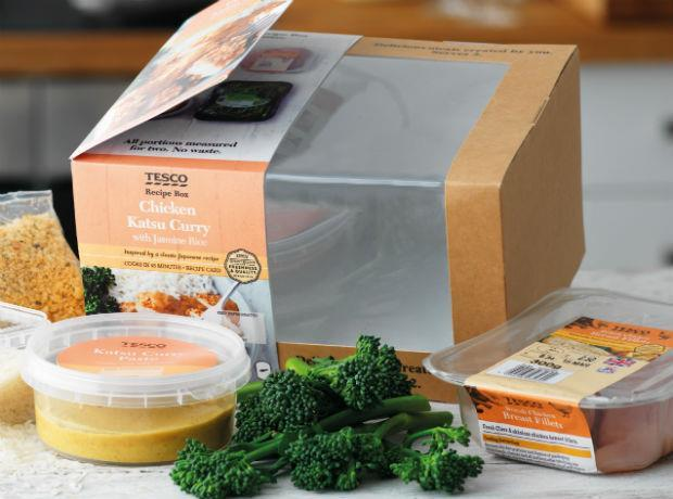 Tesco Doubles Recipe Box Trial And Adds Asian Flavours