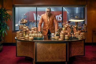 EMBARGO 13 May Robert De Niro stars in new Warburtons bagel ad 4