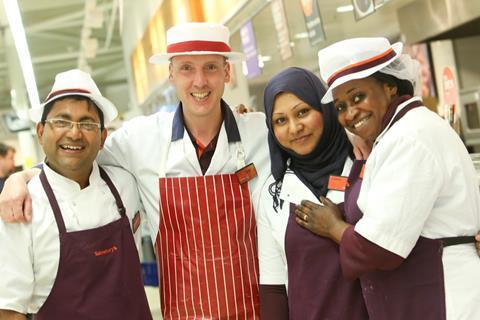 Sainsbury's staff