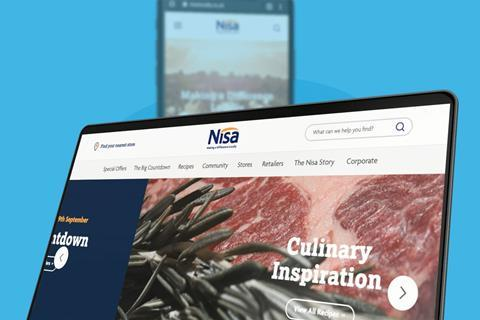 Surfing for success on new Nisa website mobile and laptop devices