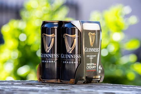 Guinness Pack Shot