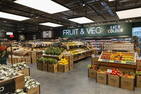 M S Trials New Store Format In Kent With Full Grocery Range News The Grocer