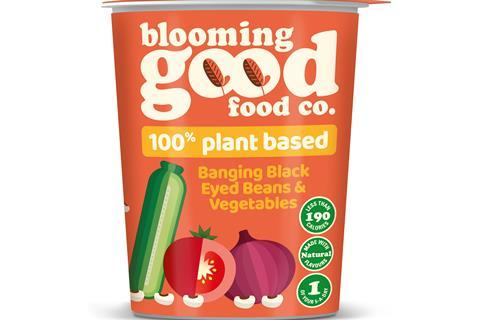 Banging Black Eyed Beans & Vegetables