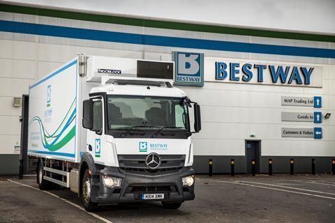 bestway lorry