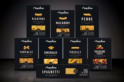 Napolina Pasta 500g Box Range Shot