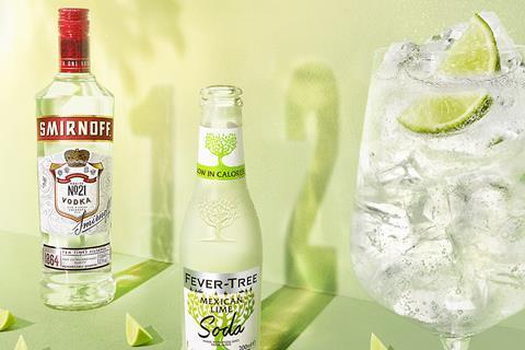 Smirnoff spritz up marketing campaign