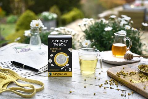 Greenypeeps camomile tea