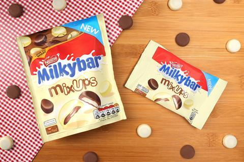 Nestlé Unveils Milkybar Mix Ups With Milk White Chocolate