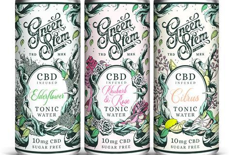 Green Stem CBD tonic