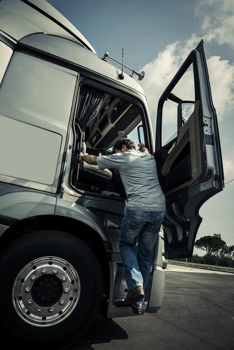HGV driver GettyImages-517377949