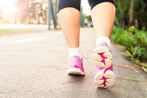walking jogging exercise