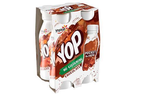 Yop chocolate