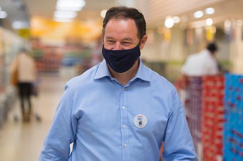 ken in mask