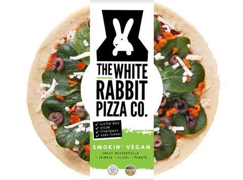 White Rabbit Pizzas Join New Waitrose Vegan Section News