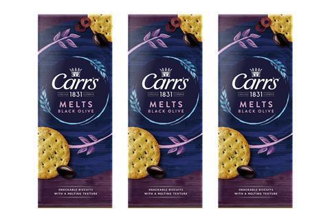 Carr's Black Olive Melts
