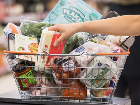 sainsburys shopping basket