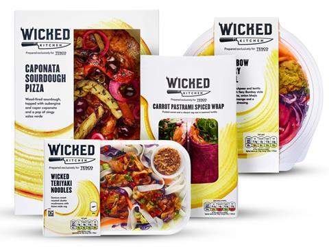 Tesco Launches 20 Strong Wicked Kitchen Vegan Range News