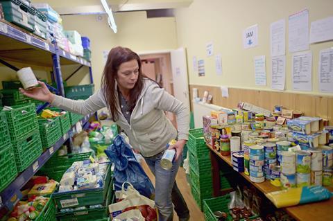 trussel trust food bank volunteer
