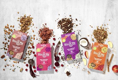 Bio&Me Gut-Loving Granola Range_Open with ingredients