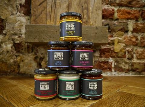 Gourmet Burger Kitchen Gets Saucy Retail Line In Tesco News The