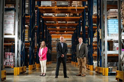 Hendersons new warehouse 1