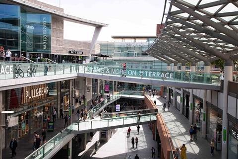 Liverpool ONE shopping centre john lewis