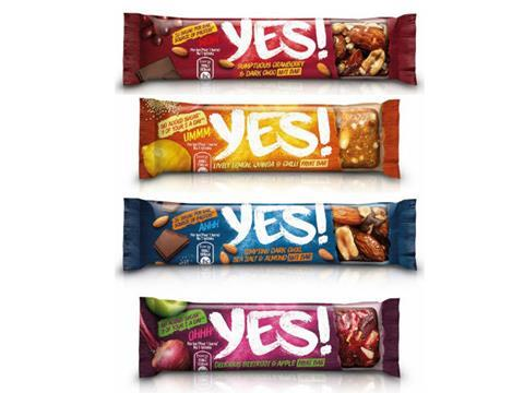 53241a191 Nestlé launches Yes! fruit and nut cereal bar brand