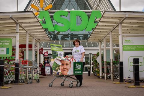 Asda Kicks Off Week Long Holiday Hunger Food Bank Collection