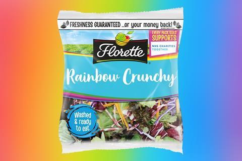 Florette Rainbow Crunchy