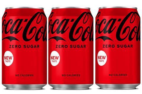 Coca Cola Zero Sugar new 2021