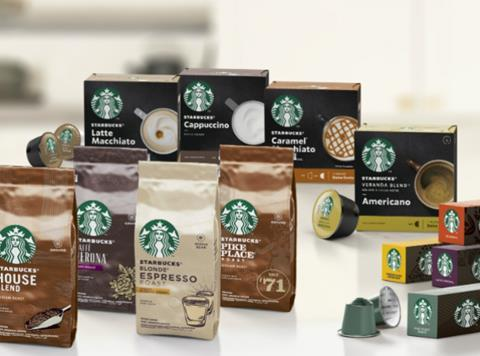 Nestlé Unveils Its First Coffee Lines Under Starbucks Name