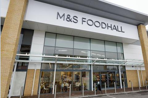 Marks & Spencer food shop