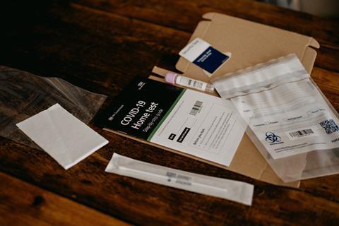 coronavirus home testing kit