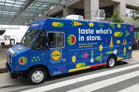 lidl food truck