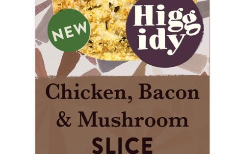 Higgidy Chicken Bacon and Mushroom Slice
