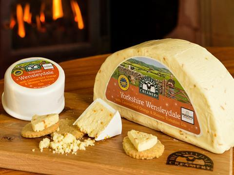 Yorkshire Wensleydale with Gin