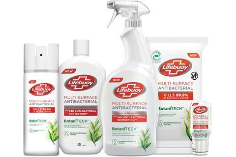 Lifebuoy Botanitech range