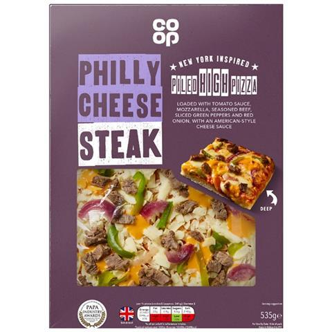Co Op Unveils New Piled High Pizza Own Label Range News The Grocer