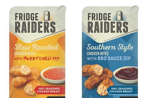 fridge raiders chicken bites with dip