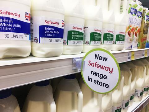 Safeway Milk